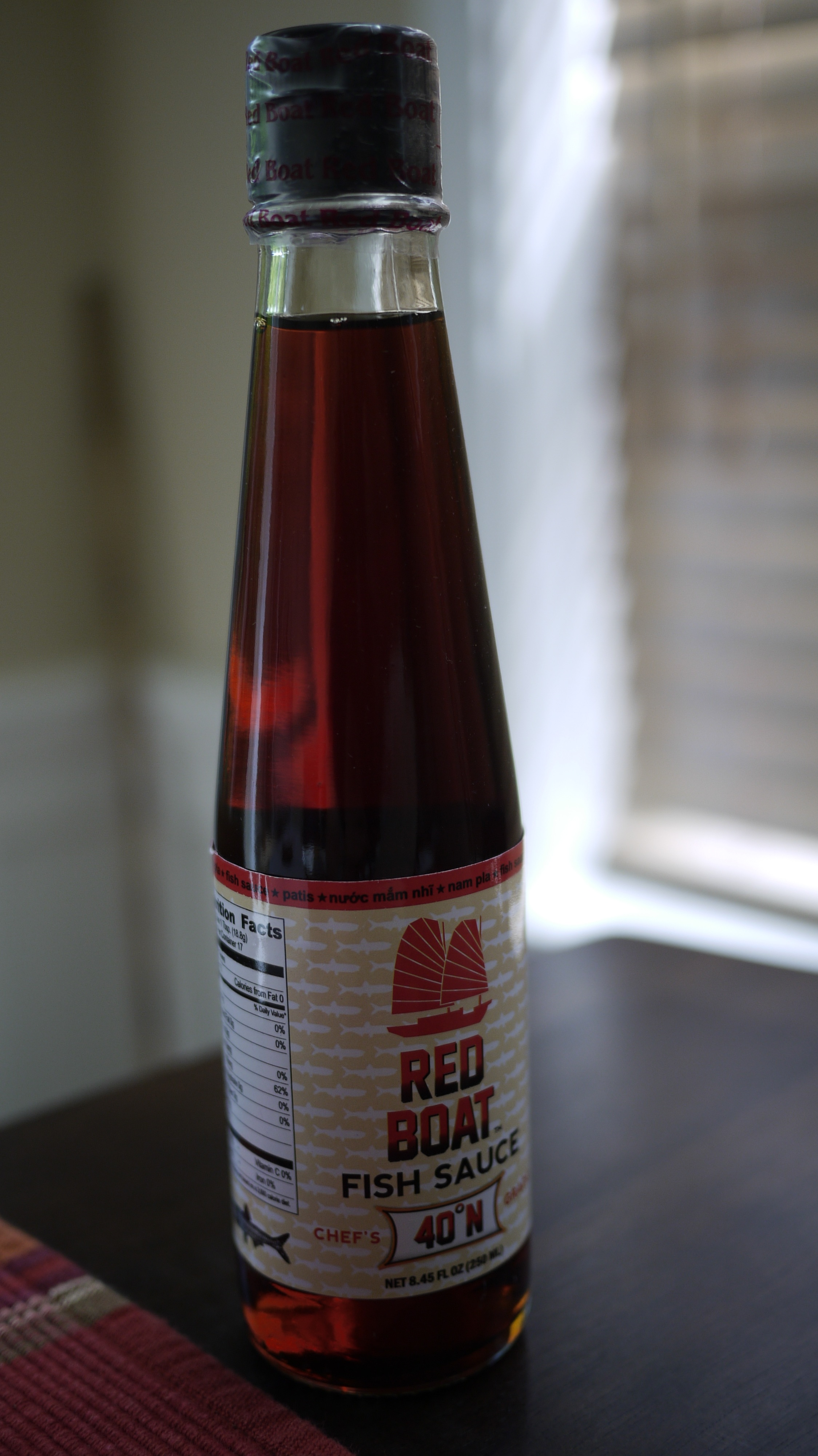 Red boat fish sauce duc n ly for Red fish sauce