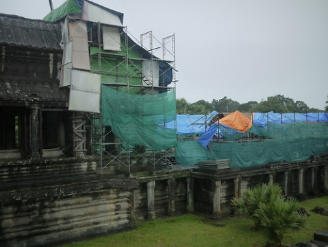 Angkor Wat Restoration project